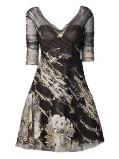 Monique Lhuillier tulle embroidered gown #wonderfulstore #farfetch #PinToWin @Farfetch