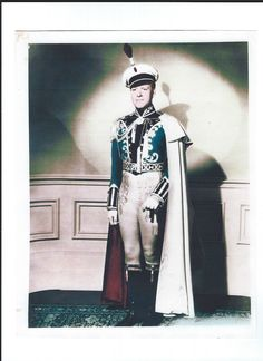 Nelson Eddy - in costume for Sweethearts - Escano Collection