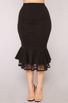 Be My Senorita Skirt - Black