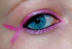 The Makeuptress: Breast Cancer Pink Ribbon This be cool for the Pink Out football game Breast Cancer Party, Breast Cancer Crafts, Breast Cancer Fundraiser, Breast Cancer Walk, Breast Cancer Support, Breast Cancer Survivor, Breast Cancer Awareness, Pink Out, Makati