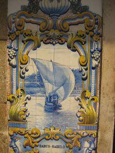 Azulejos - Barco Rabelo