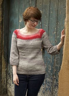 Wenlock Sweater by Tin Can Knits