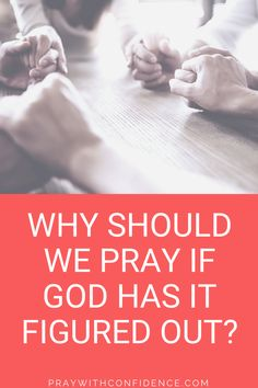 Why should I pray? Why should you pray? If God has a plan, what is the point of praying or developing a prayer life? Natasha Smith from Lovely You Blog answers this in 5 reasons to pray. #pray #howtopray #prayerlife Types Of Prayer, Get Closer To God, What's The Point, Seeking God, How To Get, How To Plan, I Pray, Trust God, Confidence
