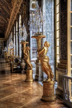 Château de Versailles. Would love to go there!