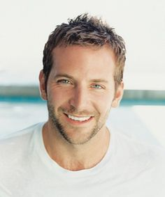 Bradley Cooper-Just saw Silver Linings Playbook and loved him in it! He can wear a garbage bag all he wants, I will gladly make out with him. ;)