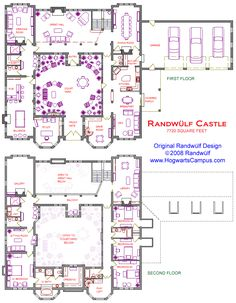 Midevil castle floor plans new 2 story castle with courtyard dream house Castle Floor Plan, Castle House Plans, Dream House Plans, House Floor Plans, Floor Plans 2 Story, The Plan, How To Plan, Castle Layout, Casa Patio