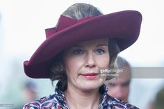 Queen Mathilde of Belgium visits the Tomb of the Unknown Soldier as part of official Royal visit in Poland on October 13, 2015 in Warsaw, Poland.  (Photo by Adam Nurkiewicz/Getty Images)