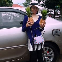 Buy pineapples to eat