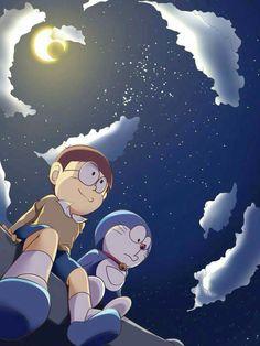 Aesthetic Cute Doraemon And Nobita Wallpaper Hd Cartoon Wallpaper Hd, Wallpaper Iphone Cute, Galaxy Wallpaper, Disney Wallpaper, Sunset Wallpaper, Black Wallpaper, 3d Wallpaper, Doremon Cartoon, Iphone Cartoon