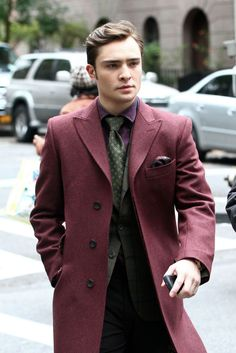 Some style inspirations from Chuck Bass.