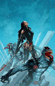 Venom Variant cover for X-Force#20 ®
