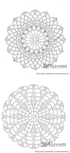 Crochet Rug Patterns, Crochet Mandala, Knit Or Crochet, Crotchet, Crochet Doilies, Crochet Flowers, Beautiful Crochet, Crochet Projects, Dream Catcher