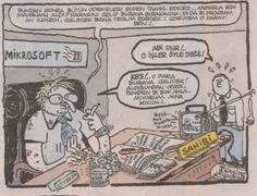 umut sarıkaya naber karikatür - Bill gates