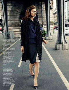 "500bbb5fb12 ""Woman in Paris""   Vika Volkute   Glamour Italia October 2012   Lorenzo  Bringheli"