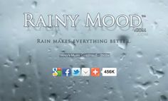 RainyMood.com Awesome rain sound to help baby sleep. I am going tobuse this for myself!!