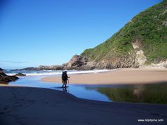 Elandsbos rivermouth - The Otter Trail, perhaps South Africa's most famous hiking trail - Ralph Pina Hiking Gear, Hiking Trails, Otters, Continents, South Africa, Traveling, African, Explore, Adventure