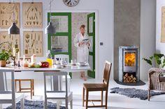 Contura 520 T wood stove / houtkachel Stove Installation, Furniture, House, Moving House, Interior, Soapstone Stove, Swedish Design, Home Decor, Stove