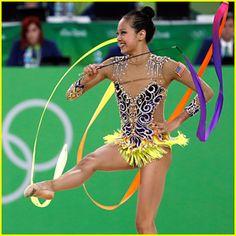 rio olympics 2016 sahara | Rhythmic Gymnast Laura Zeng Places 11th; The Highest…