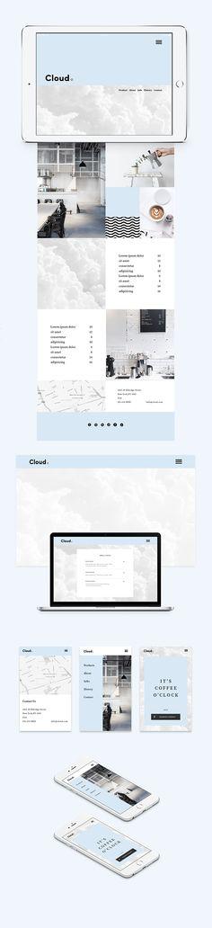 Cloud.Coffee Shop on Branding Served