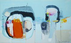 """Saatchi Online Artist: Claire Desjardins; Acrylic, 2012, Painting """"When In Doubt"""""""
