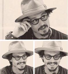 Johnny Depp Smiile., johnny-madness: so beautiful...