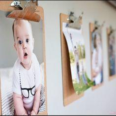 Toon de kunstwerken van je kinderen: klembord // Kids Art Display: clip board (Ashley Ann Photography)