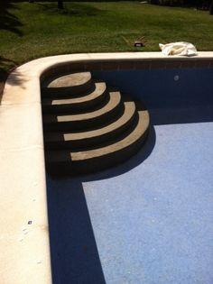 1000 images about construcci n de escalera de acceso on for Escalera piscina facil acceso