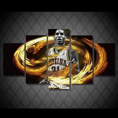 Style Your Home Today With This Amazing 5 Panel Reggie Miller Basketball Player Framed Wall Canvas For $99.00  Discover more canvas selection here http://www.octotreasures.com  If you want to create a customized canvas by printing your own pictures or photos, please contact us.
