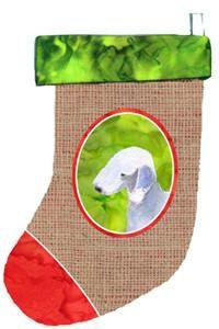 Bedlington Terrier Christmas Stocking SS2011
