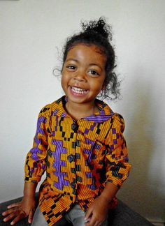 kids in African clothing