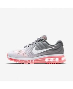 buy online 4b27d 225b6 Buy the latest fashion Nike Air Max 2017 Pure Platinum Cool Grey Hot  Lava White Women s Running Shoes to enjoy the Cheapest price.