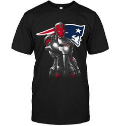 Buy here : http://uptotee.com/ipatriots?s=hanes-5250&c=Black&p=FRONT