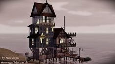 Abandoned fisherman house by Julia Engel - Sims 3 Downloads CC Caboodle