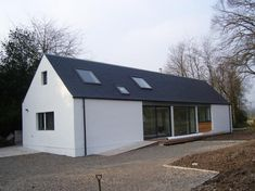 Sip House, Rural House, Home Design Plans, Small Houses, Prefab, Arches, Future House, Modern Farmhouse, Paths