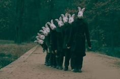 Rabbit heads - Helena Blomqvist