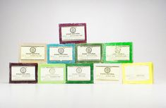Natur Seife Seifenstück Indien Safran Sandel Tulsi Neem Lemon Mandel Minze