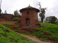 Lalibela's Unique house style by Kate in Ethiopia, via Flickr