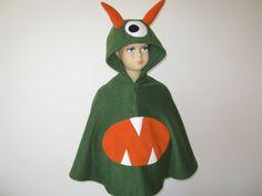 monster halloween fasching kostüm cape für kleinkinder von bighead5005 auf Etsy