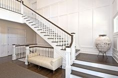 Wainscott South - traditional - staircase - new york - EB Designs