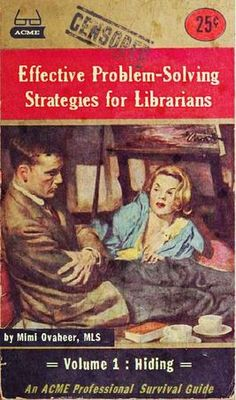 Effective Problem-Solving Strategies for Librarians Vol. 1 Hiding Professional Library Literature : simplebooklet.com