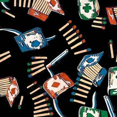 Smokes 1a fabric by muhlenkott on Spoonflower - custom fabric