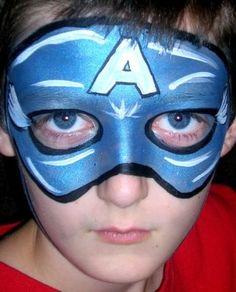 maquiagem artistica infantil meninos - Pesquisa Google