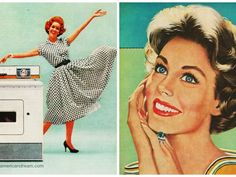Second Wave Feminism Quiz: In which rock band recorded a song about bored housewives turning to prescription drugs to cope with their existence? Vintage Images, Retro Vintage, Vintage Pictures, Second Wave Feminism, Big Chill, Science And Nature, American Women, Money Saving Tips, Vintage Advertisements