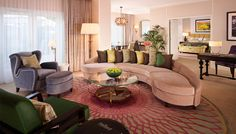 After two years of ongoing renovations at Hollywood's iconic Beverly Hills Hotel, New York–based designer Adam Tihany has begun the final phases of the hotel's remodel. All 208 guest rooms are expected to be finished by the end of 2014.