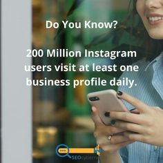 Do You Know? 200 Million Instagram users visit at least one business profile daily. Seo Services Company, Best Seo Services, Seo Company, Internet Marketing Seo, Seo Marketing, Digital Marketing Strategy, Landing Page Optimization, Website Analysis