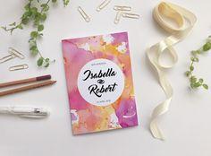 Hochzeitskarten - Hochzeitseinladung Pdf zum ausdrucken - ein Designerstück von…