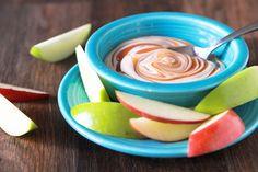 Creamy Caramel Apple Dip   Great way to get kids to eat more fruit.