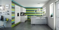Kitchen Ideas With Captivating Color Concept