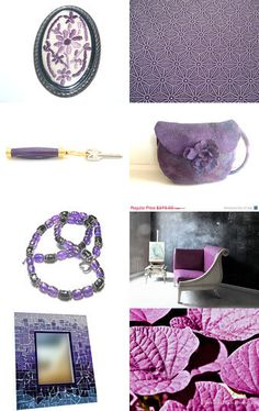Purple by Anna on Etsy--Pinned with TreasuryPin.com