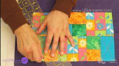 Para todos los interesados en aprender la técnica de quilting, les compartimos este tutorial para hacer un mantelito individual, seguro te inspirará a realizar nuevas creaciones y qué mejor que aprender de los expertos! #quilting #patchwork #123dreamit